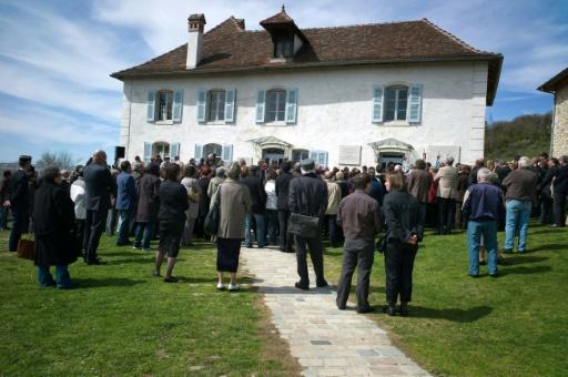 De futurs commissaires et officiers de police visitent le mémorial d'Izieu