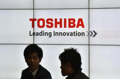 Toshiba reste en Bourse et espère revenir vite dans le premier tableau