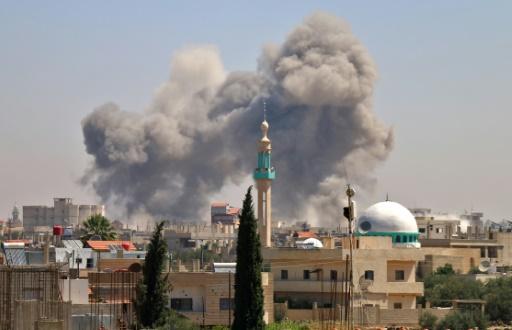 Syrie: trois hôpitaux hors service après des bombardements dans le sud