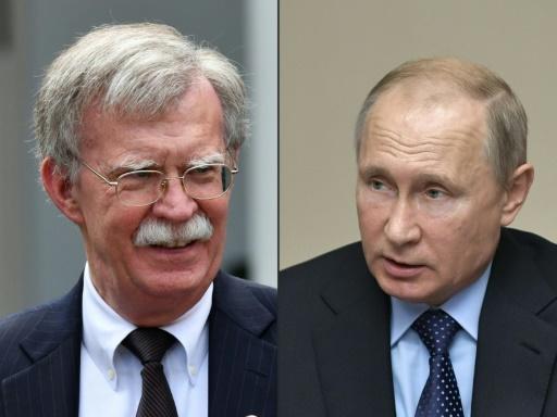 Poutine reçoit mercredi le conseiller à la sécurité de Trump