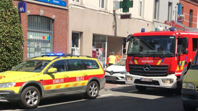 Explosion dans une pharmacie de La Louvière: la porte du frigo a sauté et brisé la vitrine
