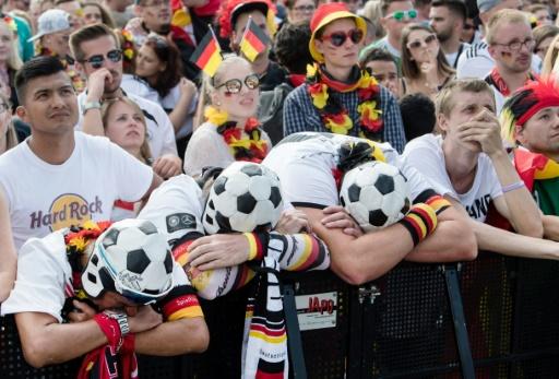 Mondial-2018: éliminée, l'Allemagne entre colère et consternation