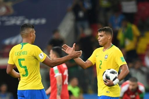 Mondial-2018: Brésil-Mexique et Suède-Suisse en 8e