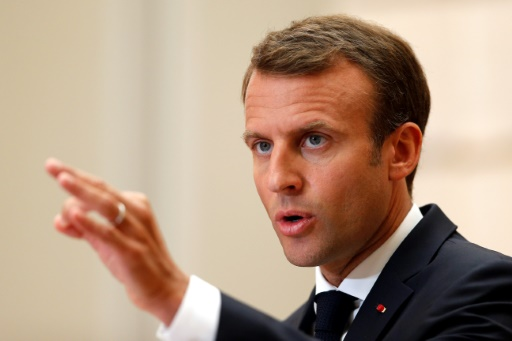 Emmanuel Macron souhaite