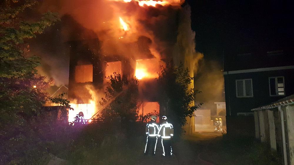 Incendie suspect à Jumet: l'habitation était squattée (photos)