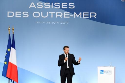 Mayotte: Macron