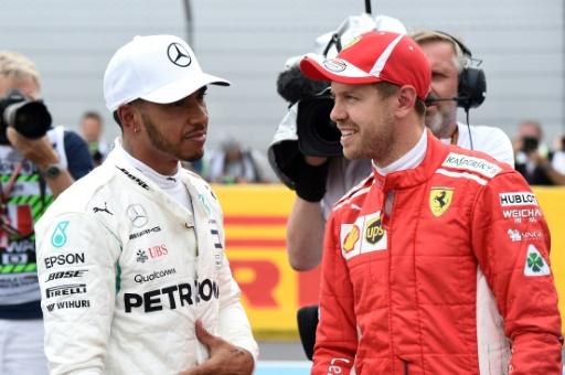 GP d'Autriche: Hamilton et Vettel, le chassé-croisé des vacances