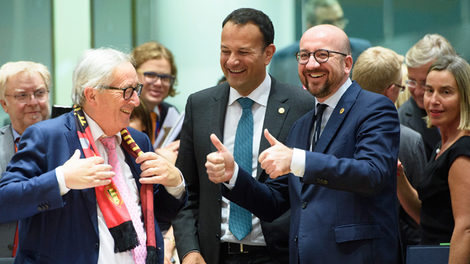 Charles Michel fait l'éloge du compromis européen sur la migration: