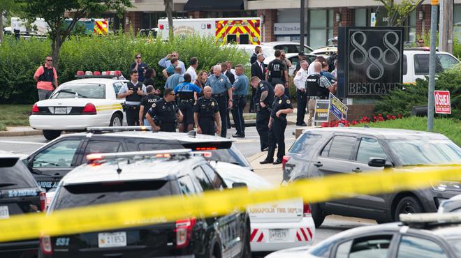 Fusillade dans la rédaction d'un journal aux Etats-Unis: 5 morts, les motivations du tueur sont connues