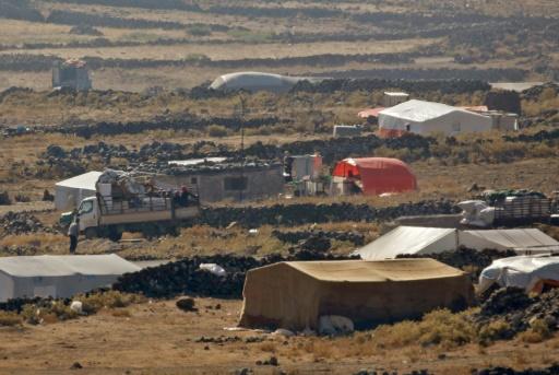 Israël a fait parvenir des aides à des déplacés syriens
