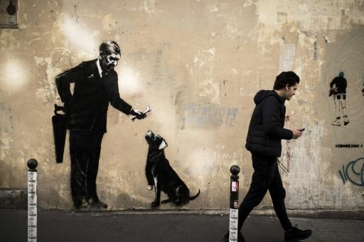 Quand Banksy fait son trou à Paris