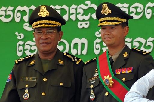 Cambodge: un fils du Premier ministre promu à des postes militaires importants