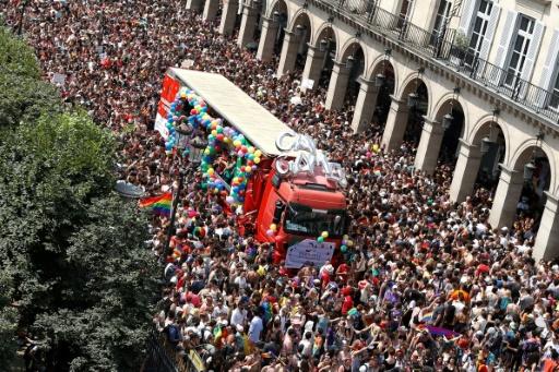 La Marche des fiertés à Paris: