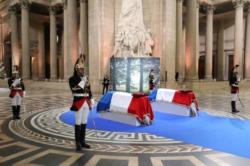 Simone et Antoine Veil sont entrés au Panthéon