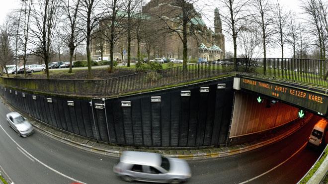 Bruxelles: c'est dimanche, mais il y a déjà des bouchons suite à la fermeture du tunnel Léopold II