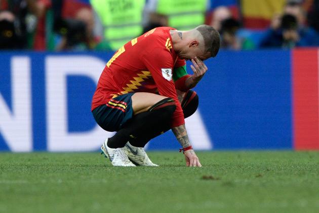 Mondial 2018: Sergio Ramos réagit après l'élimination de l'Espagne