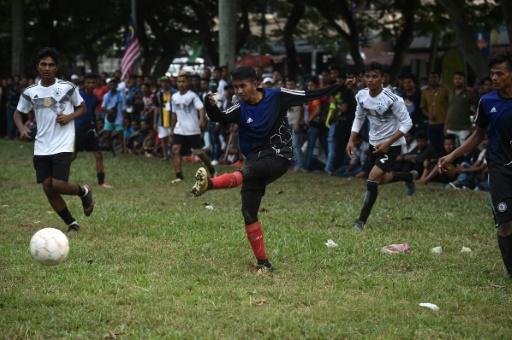 En Malaisie, un tournoi de foot offre un répit à des Rohingyas pendant le Mondial