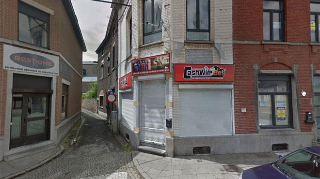 Monceau-sur-Sambre: braquage d'une agence de paris à la baïonnette et à l'arme à feu