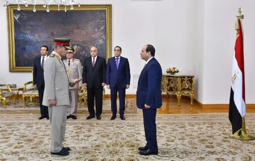 Le ministre égyptien de la Défense en visite officielle à Paris