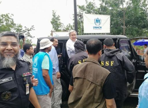 Bangladesh: le secrétaire général de l'ONU dans les camps rohingyas