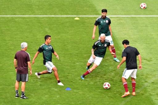 Mondial-2018: le Mexique avec Rafael Marquez, le Brésil sans surprise