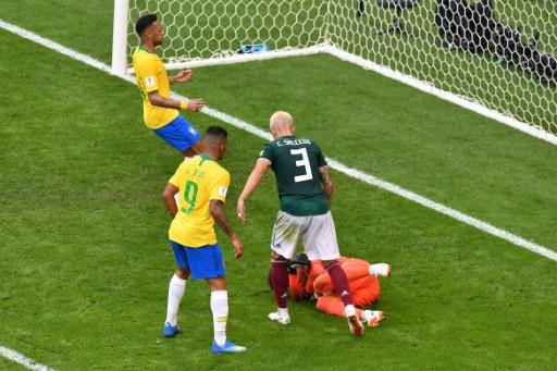 Mondial: Brésil et Mexique, 0-0 à la pause
