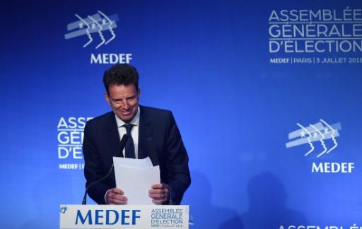 Geoffroy Roux de Bézieux élu président du Medef avec 55,8% des voix