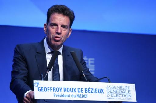 Geoffroy Roux de Bézieux succède à Pierre Gattaz comme patron des patrons