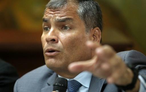 Equateur: mandat d'arrêt contre l'ex-président Correa