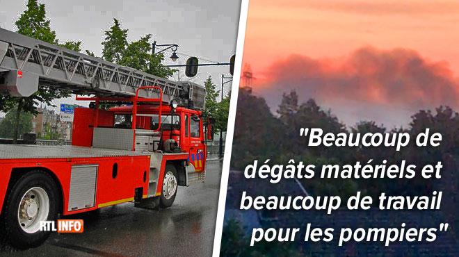 Incendies en série à Liège et Herstal cette nuit:
