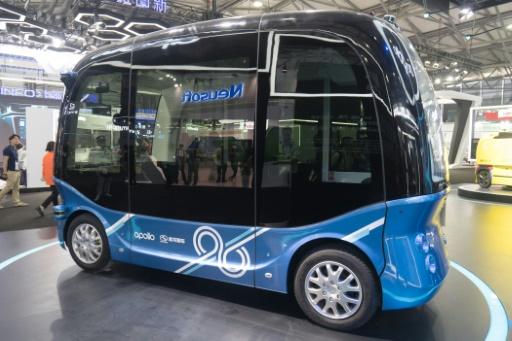 Chine: le géant de l'internet Baidu lance des minibus autonomes