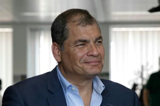 L'ancien président équatorien Correa dénonce un