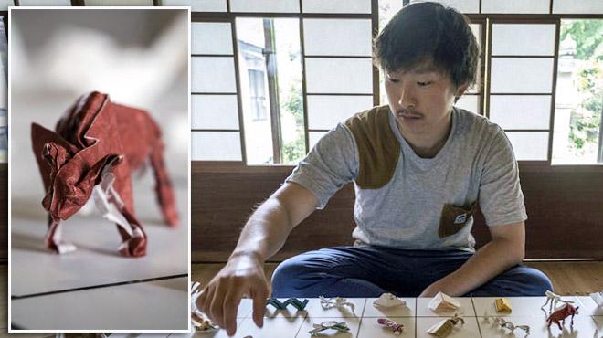 Pourboire à la japonaise: 15.000 pièces d'origami rassemblées par un serveur...