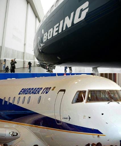 Boeing met le grappin sur les activités civiles d'Embraer