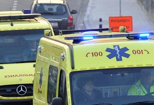 Important accident à Jodoigne: trois véhicules entrent en collision et font des blessés