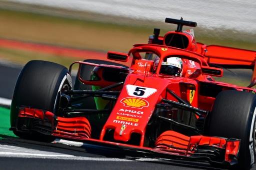 GP de Grande-Bretagne: Vettel meilleur temps des essais libres 2