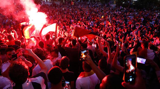 La terre a tremblé avec les supporters vendredi soir: