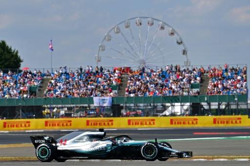GP de Grande-Bretagne: Lewis Hamilton (Mercedes) en pole position