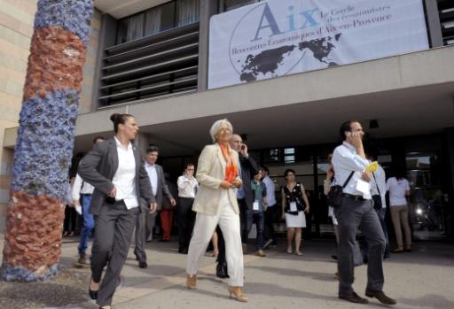 Aux rencontres d'Aix, la guerre commerciale tracasse les économistes