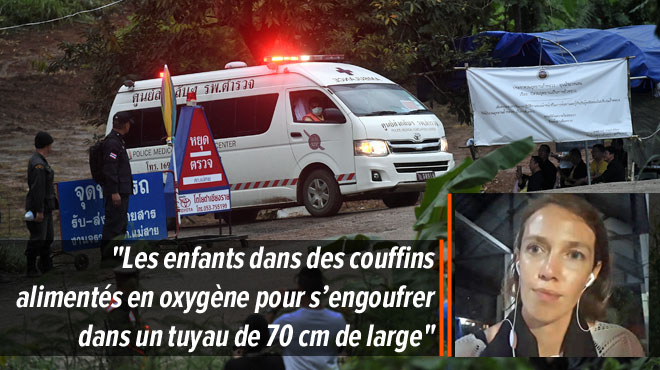 Opération de l'évacuation de la grotte en Thaïlande: 4 enfants secourus confirmés, les autres devront encore attendre