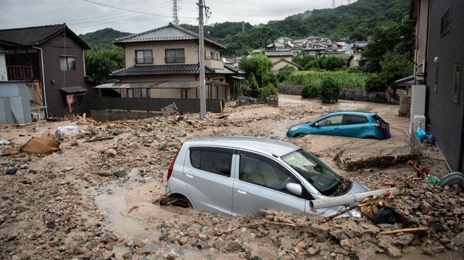 Le bilan des intempéries au Japon dépasse les 80 morts