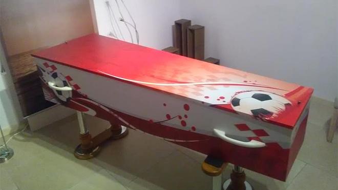 L'offre folle d'un funérarium de Saint-Hubert en cas de victoire des Diables Rouges face à la France