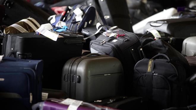 Un millier de valises attendent leurs propriétaires à Brussels Airport: