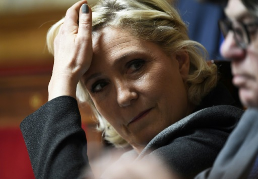 Saisie au RN: Le Pen dénonce un