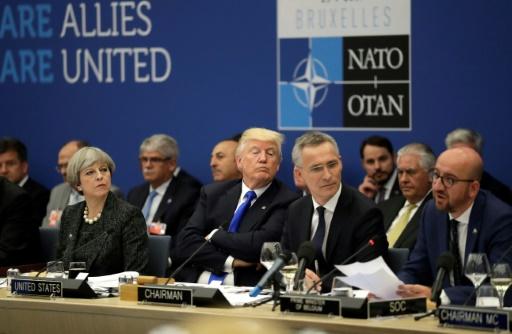 Donald Trump consterne ses alliés avec ses exigences financières — Sommet de l'Otan