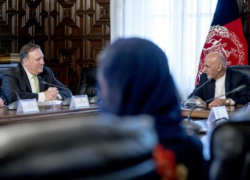 Pompeo à Kaboul en soutien aux efforts de paix