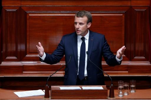 Emmanuel Macron devant le Congrès: les principales déclarations
