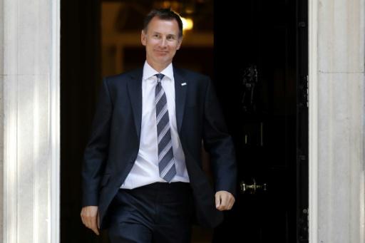 GB: Jeremy Hunt nommé ministre des Affaires étrangères en remplacement de Boris Johnson