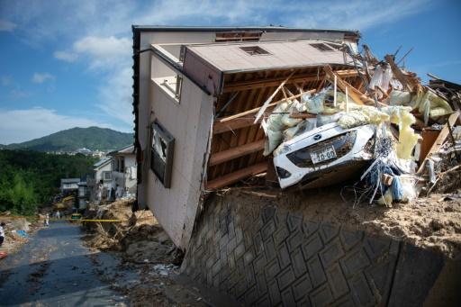 Intempéries au Japon: le bilan officiel provisoire monte à 122 morts