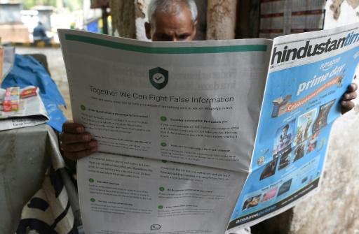 Rumeurs meurtrières en Inde: WhatsApp offre des